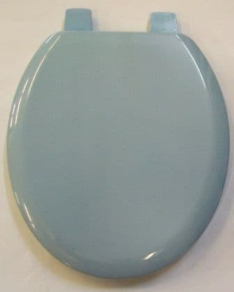 Bemis Old Colour Toilet Seat - Light / Sky Blue - 02000112