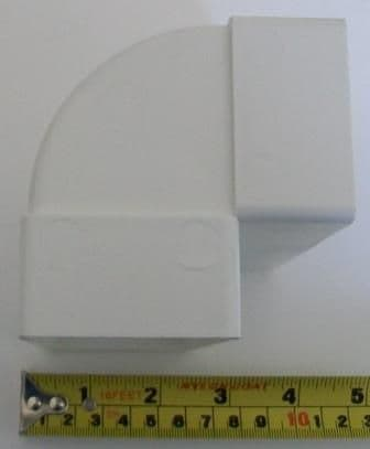 Bend for Flexible Rectangular Flat Channel Ducting - 70005050