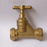 Brass 28mm Compression Stopcock - 07001621
