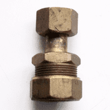 Brass MDPE Alkathene Tap Swivel Connector 20mm x 1/2 - 18432000