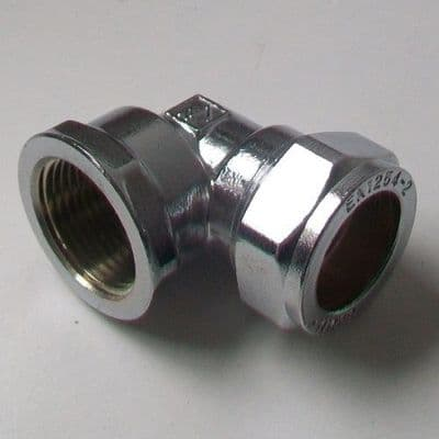 Chrome 22mm x 3/4
