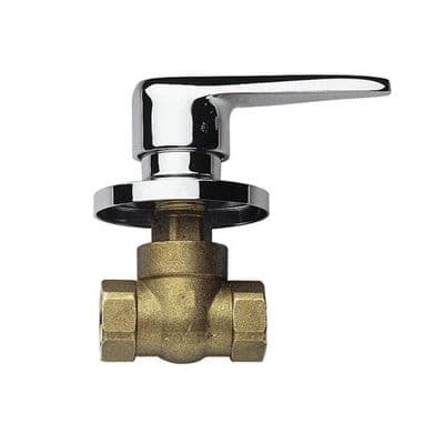 Chrome Concealed / Built In Lever Valve 3/4 inch - 58000021