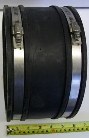 Flexible Rubber Pipe Connector 150mm -165mm