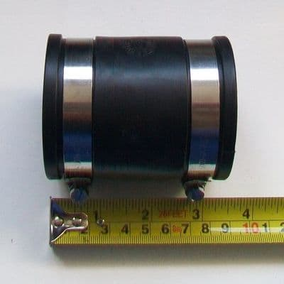 Flexible Rubber Waste Pipe Connector 2 inch 54mm to 59mm