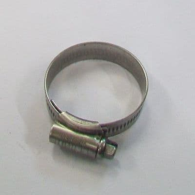 Jubilee Clip 304 Stainless Steel 30mm-40mm - 30000724