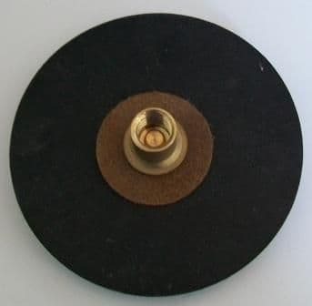 Large Drain Rod Rubber Plunger 6 inch
