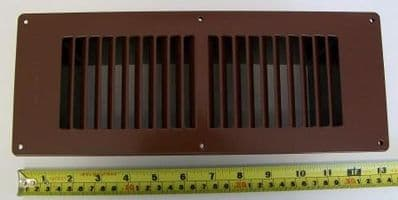 Large Steel Fuel Effect Gas Fire Floor Vent