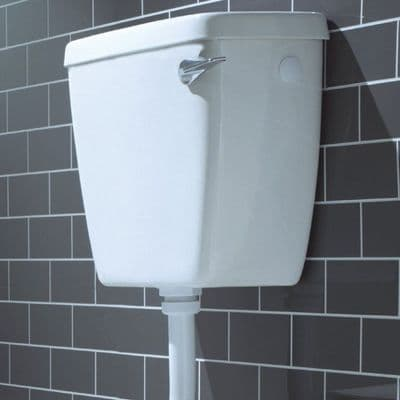 Low Level Lever Operated Toilet Cistern - Side Entry - 05005282