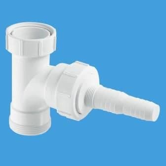 McAlpine 1.1/4 Tee with Appliance Nozzle V34L - 39000086