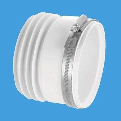 McAlpine Back to Wall Straight Toilet Pan Connector - 42001005