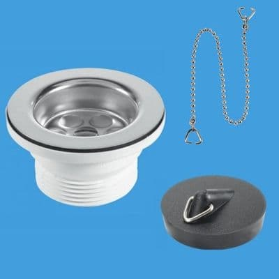 McAlpine Bath / Kitchen Sink 70mm Flange Waste - 74001040