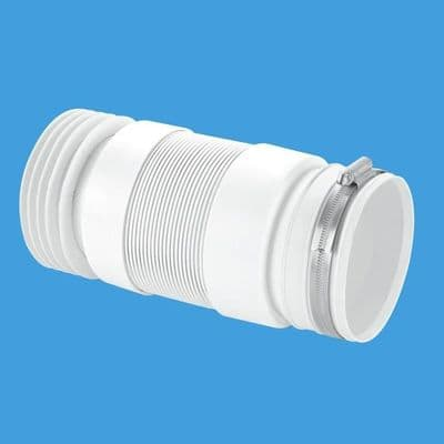 McAlpine Flexible Back to Wall Toilet Pan Connector - 40005555