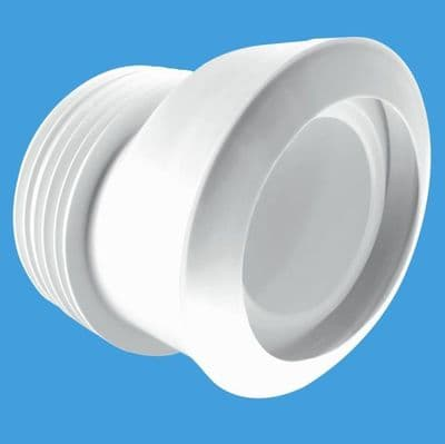 McAlpine MACFIT 20mm Offset Toilet Pan Connector MAC-4