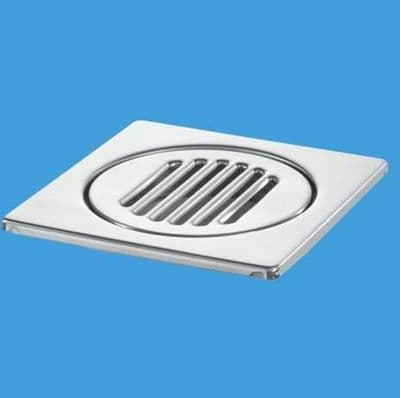 McAlpine Stainless Steel Wetroom Gully Grid 15cm x 15cm - 38004044