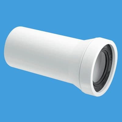 McAlpine Straight 4 inch / 110mm Plain End Pan Connector