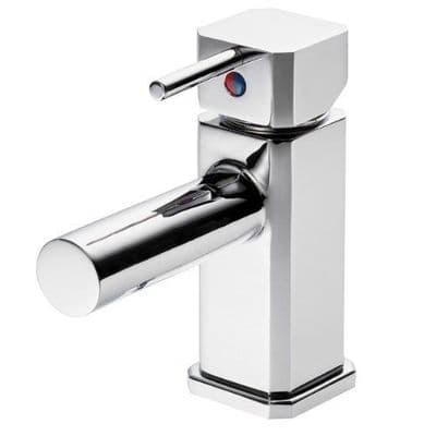 Pegler Traun Single Lever Monobloc Basin Mixer Tap - 584S5003