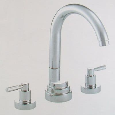 Pegler Visio 3 Tap Hole Bath Filler Tap - Old Style - 584K4009