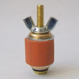 Pressed Steel Waste Pipe Plug Small 1 inch