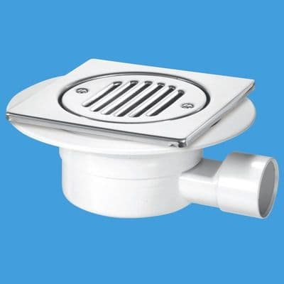 Shallow Shower Gully Trap for Tiled or Stone Floor - 40000001