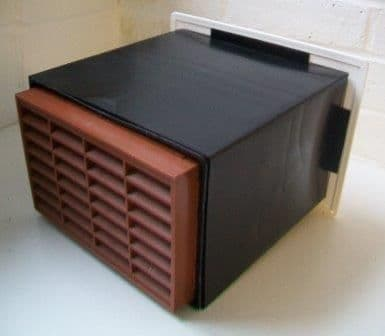 Stadium Anti Draught Black Hole Cavity Wall Ventilator BM701/3 - 70000521