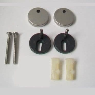 Top Fixing Clip On Peg Seat Hinges - Small Peg - 03065750