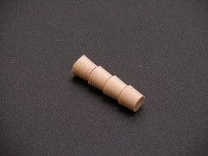 P12SY Sycamore Cross Grain Timber Pellets 12.7mm