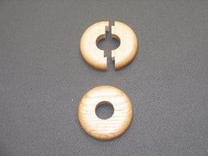 SOLID OAK PIPE RINGS 50X10 TO SUIT 15MM COPPER PIPE SOLID OAK