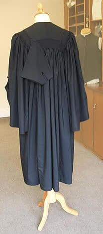 Barrister's Gown Polyester Panama