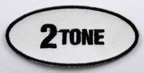 2 Tone - Small Embroidered Patch