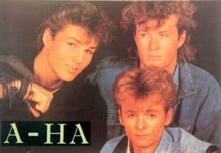 a-ha - 'Group 1' Postcard