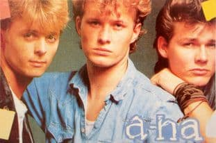 a-ha - 'Group 2' Postcard