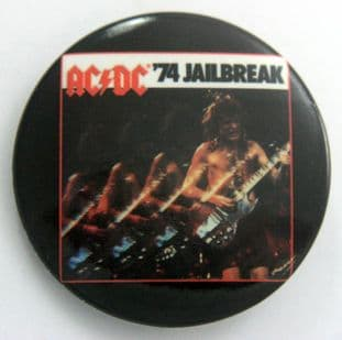 AC/DC - ''74 Jailbreak' Large Button Badge