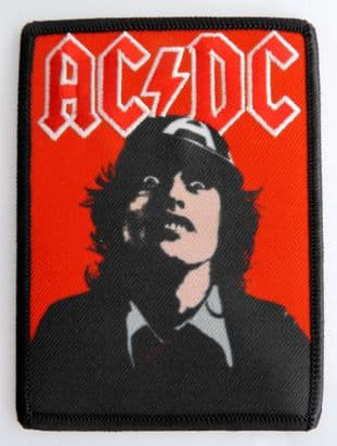 AC/DC - 'Angus Red' Sew-on Patch