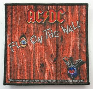 AC/DC - 'Fly on the Wall' Woven Patch