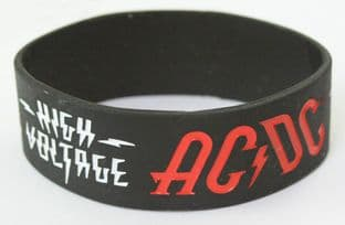 AC/DC - 'High Voltage' Collectable Rubber Wristband