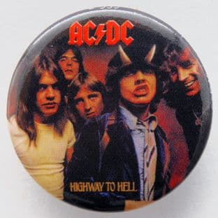 AC/DC - 'Highway to Hell' 32mm Badge