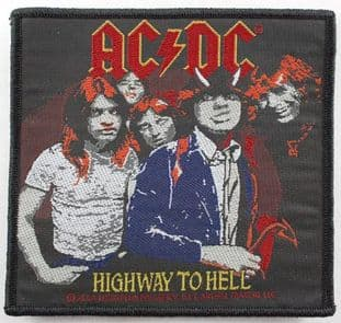 AC/DC - 'Highway to Hell' Woven Patch