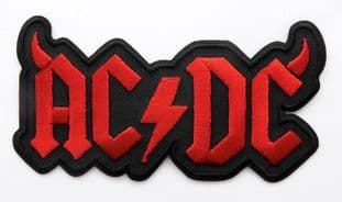 AC/DC - 'Horned Logo' Sew-on Embroidered Patch