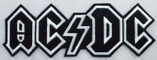AC/DC - Large Logo Embroidered Patch