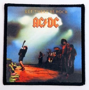 AC/DC - 'Let There Be Rock' Printed Patch