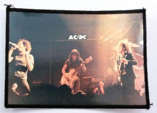 AC/DC - 'On Stage White Guitar' Photo Patch