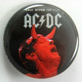 AC/DC - 'Stiff Upper Lip' 32mm Badge