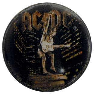 AC/DC - 'Stiff Upper Lip' Button Badge