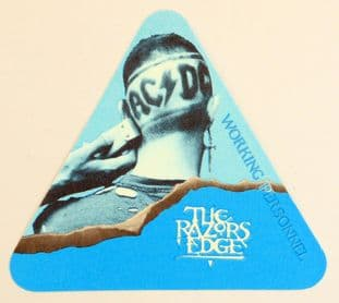 AC/DC 'The Razors Edge 1990/91 Working Personnel' OTTO Backstage Pass