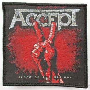 Accept - 'Blood of the Nations' Woven Patch