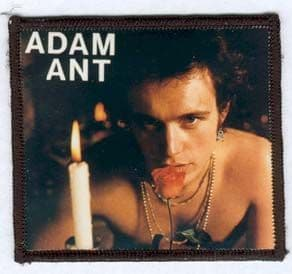 Adam and the Ants - 'Adam' Photo Patch