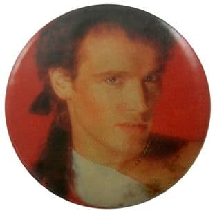 Adam and the Ants - 'Adam Red' Button Badge