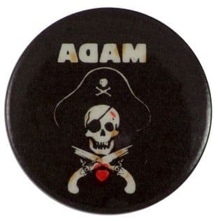 Adam and the Ants - 'Pirate Skull' Button Badge
