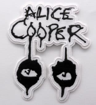 Alice Cooper - 'Eyes Logo' Embroidered Patch