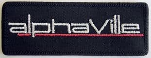 Alphaville - 'Logo' Embroidered Patch